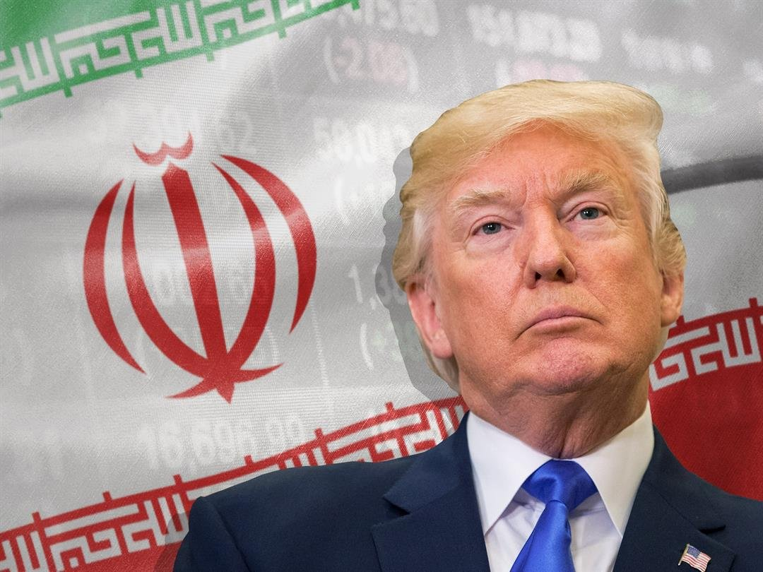 Oil down sharply ahead of Trump announcement on Iran deal