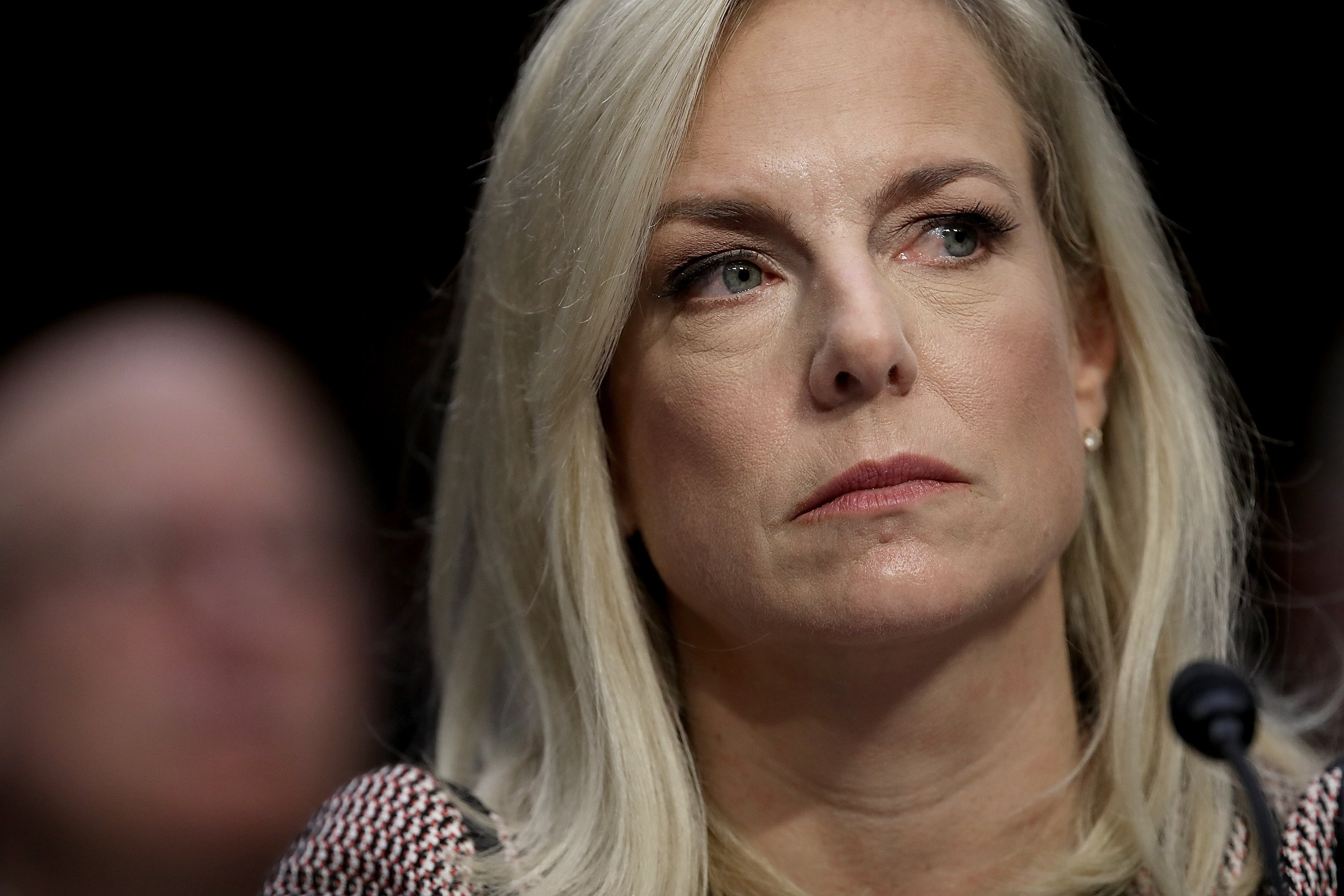 Homeland Security Director Kirstjen Nielsen Nearly Resigns After Trump Blow Up
