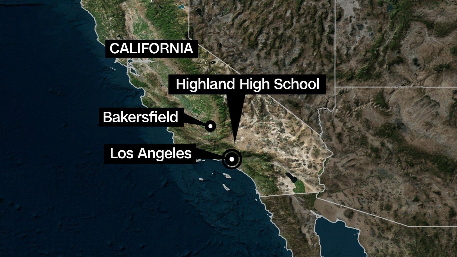 California school shooting suspect in custody, 1 injured