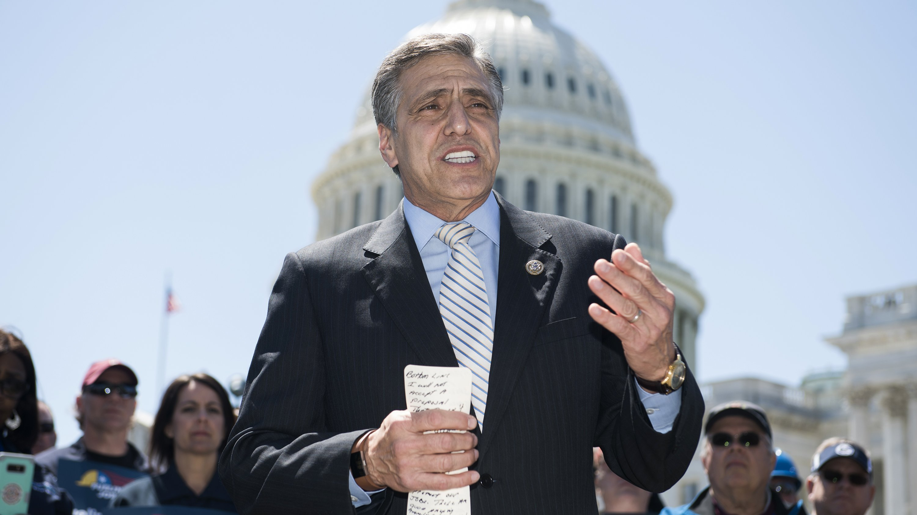 Trump records robo-call endorsement for Lou Barletta in Pa. Senate race