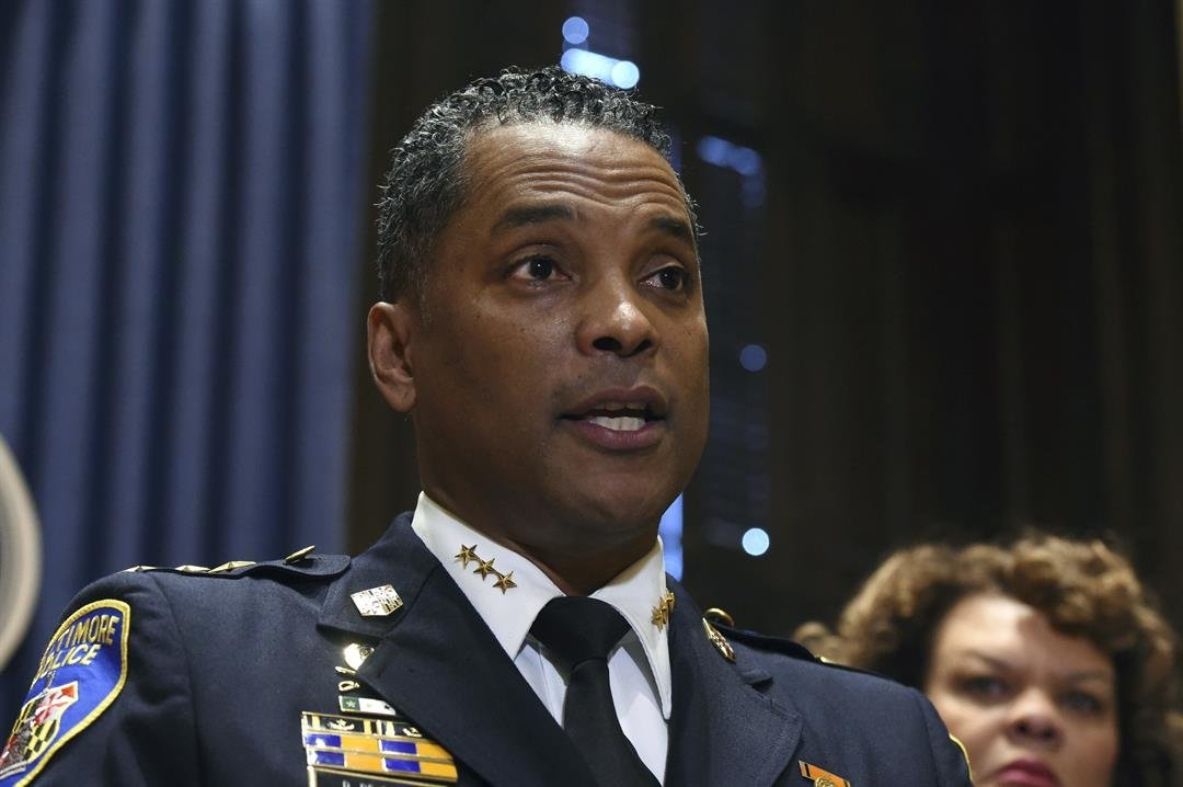 Baltimore police commissioner resigns amid federal tax charges