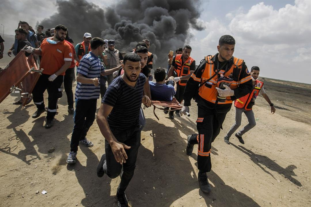 The gulf between Washington and the rest of the world widened Tuesday as a majority of UN countries expressed their distress and anger about violence along the Israeli-Gaza border, while US Ambassador to the UN Nikki Haley offered a staunch defense of...