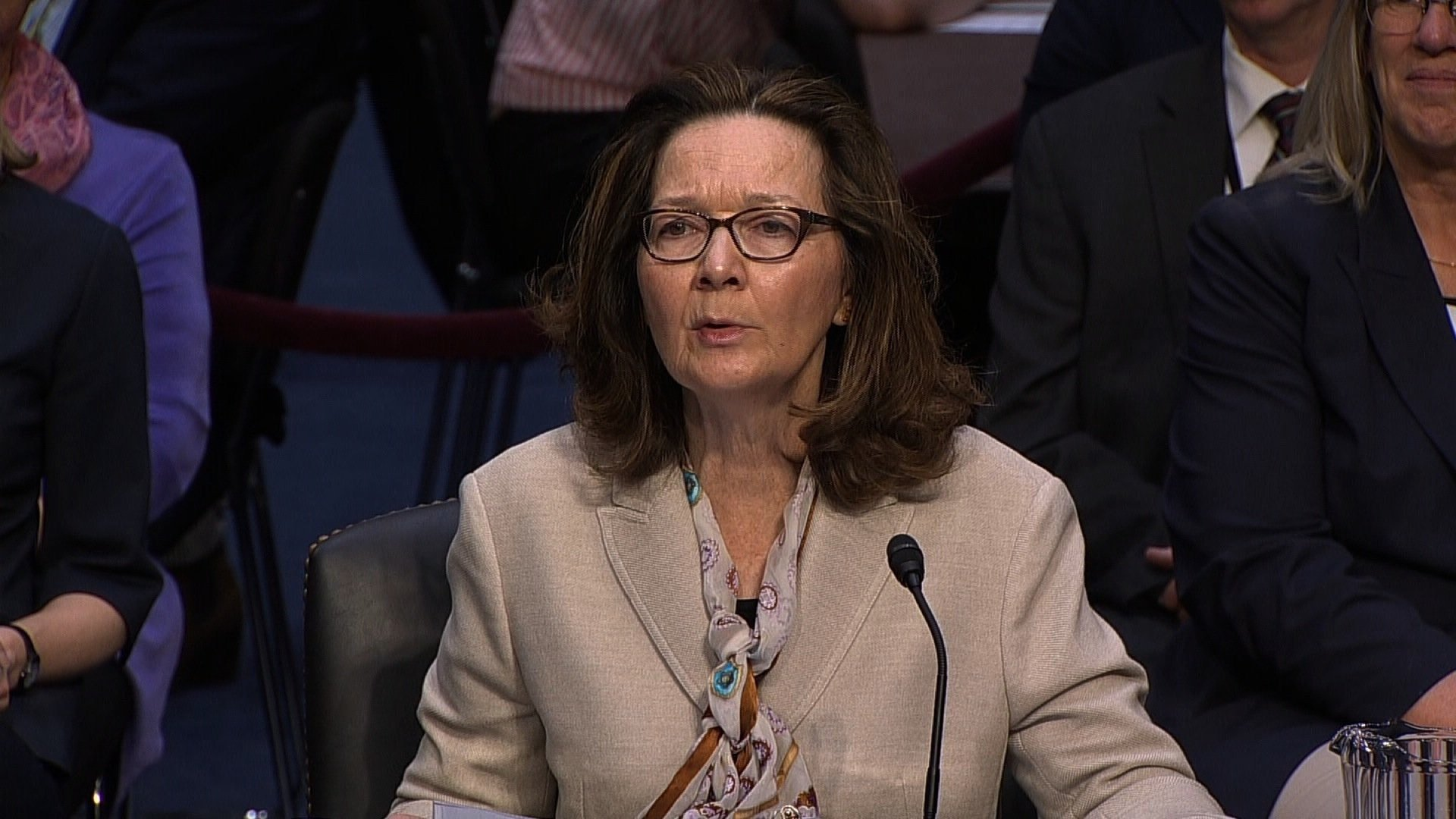 The Senate Intelligence Committee will vote behind closed doors Wednesday to advance Gina Haspel's nomination as President Donald Trump's CIA director pick. She looks all but assured to win Senate confirmation.