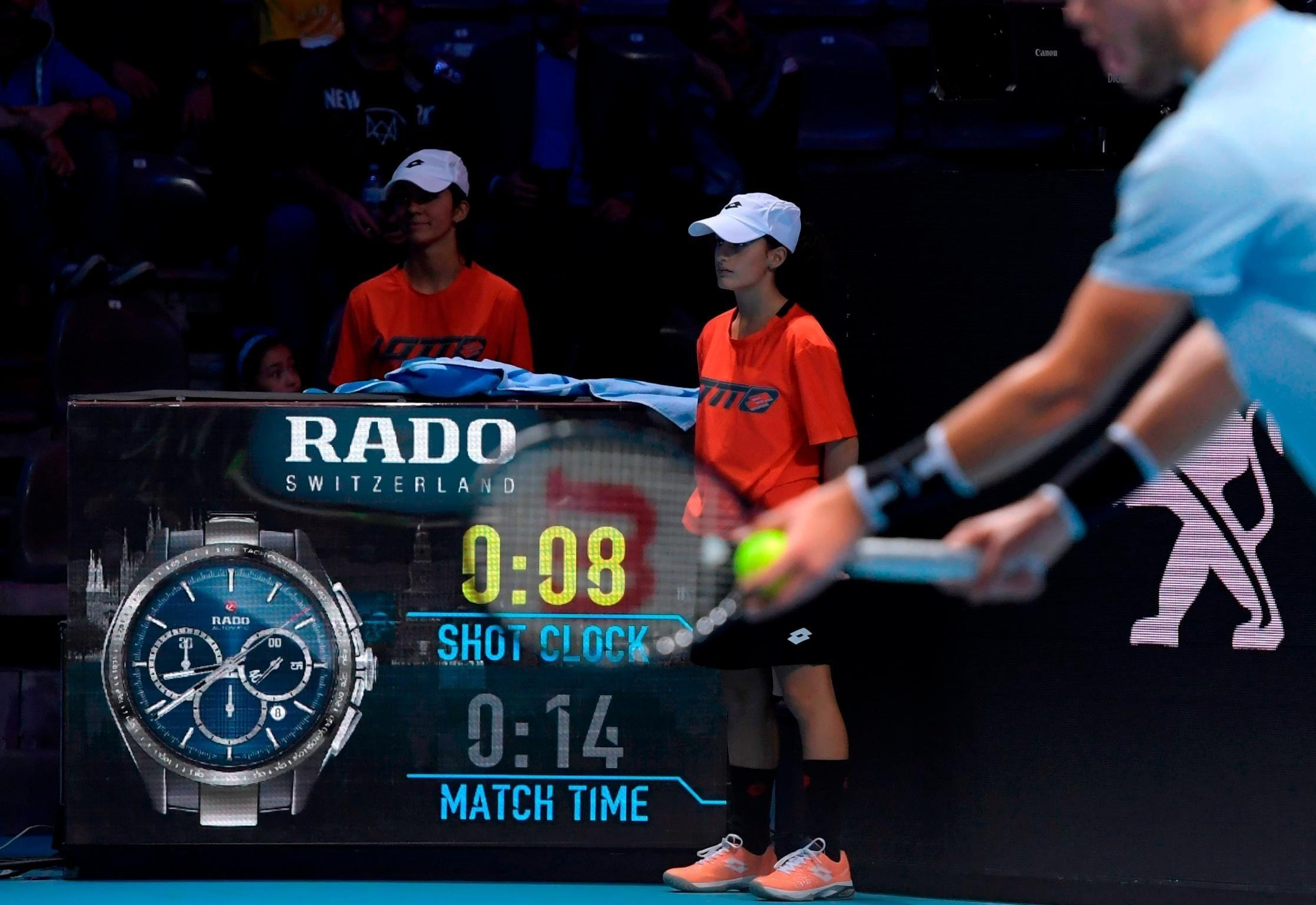 Rule changes -- such as towel racks, shorter sets and reduced warm-ups -- and other innovations such as a 25-second shot clock will be further trialed at November's Next Gen ATP Finals and could be introduced on the men's tour as early as 2019.