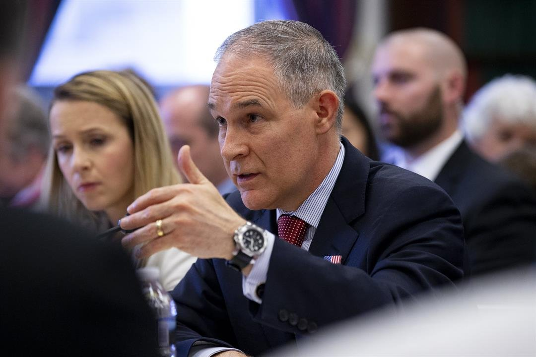 EPA chief tells senators criticisms against him unfounded, exaggerated