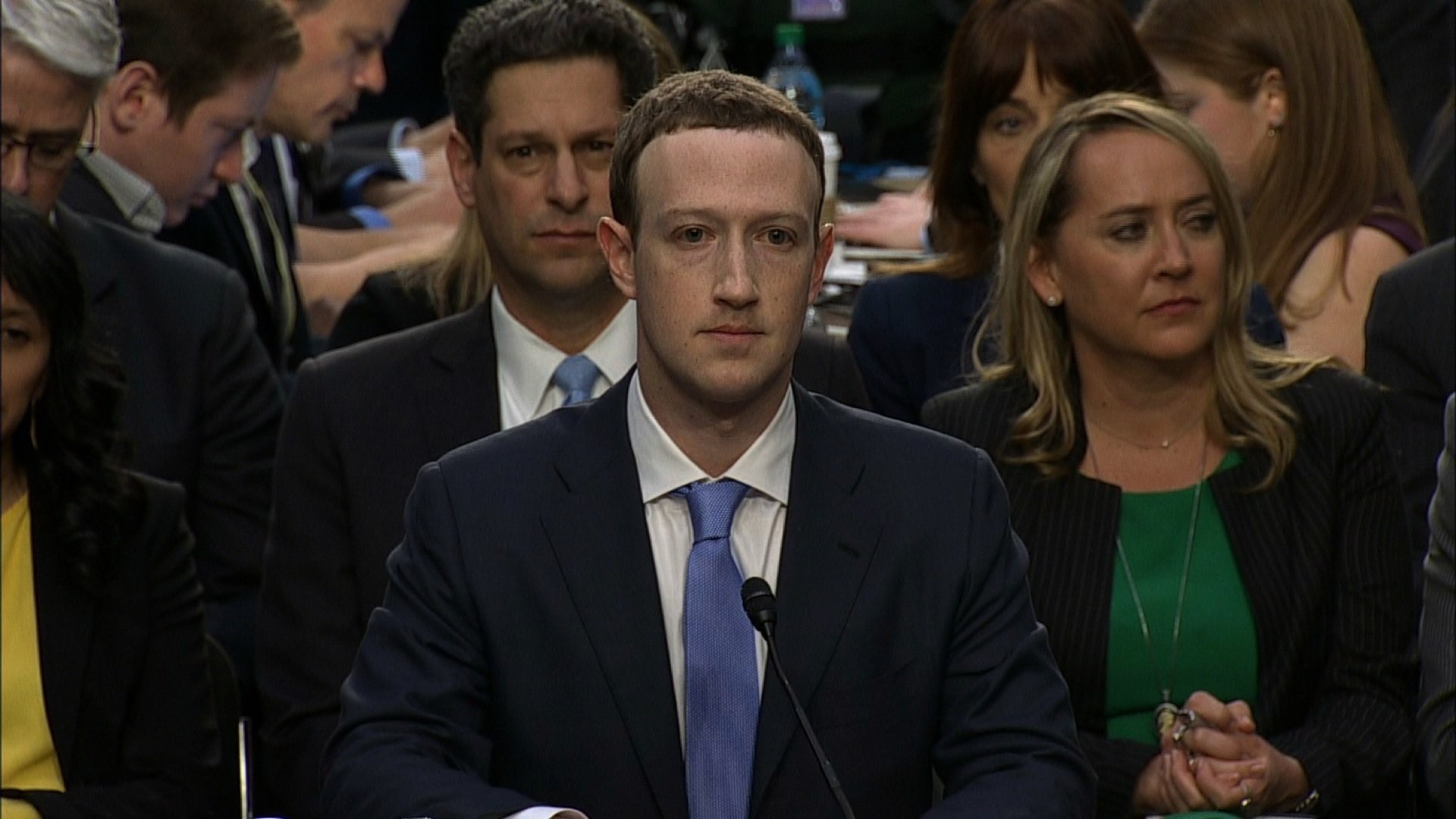 Mark Zuckerberg has agreed to appear before the European Parliament to discuss Facebook's use of personal data. (FILE)