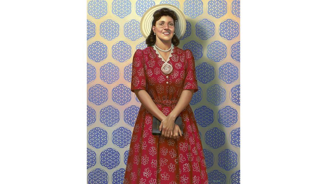 "The Mother of Modern Medicine"" by Kadir Nelson, oil on linen"