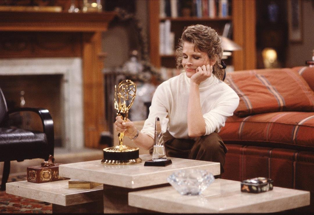 """Murphy Brown"" is coming back to television in September and no one is more excited than Candice Bergen.  CREDIT: CBS Photo Archive/CBS/CBS via Getty Images"