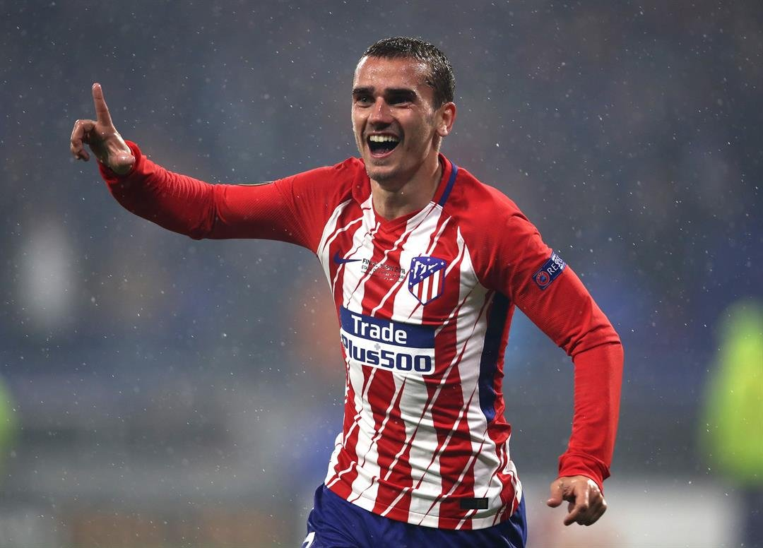 Atletico's Griezmann praises coach Simeone, excited for Europa League final