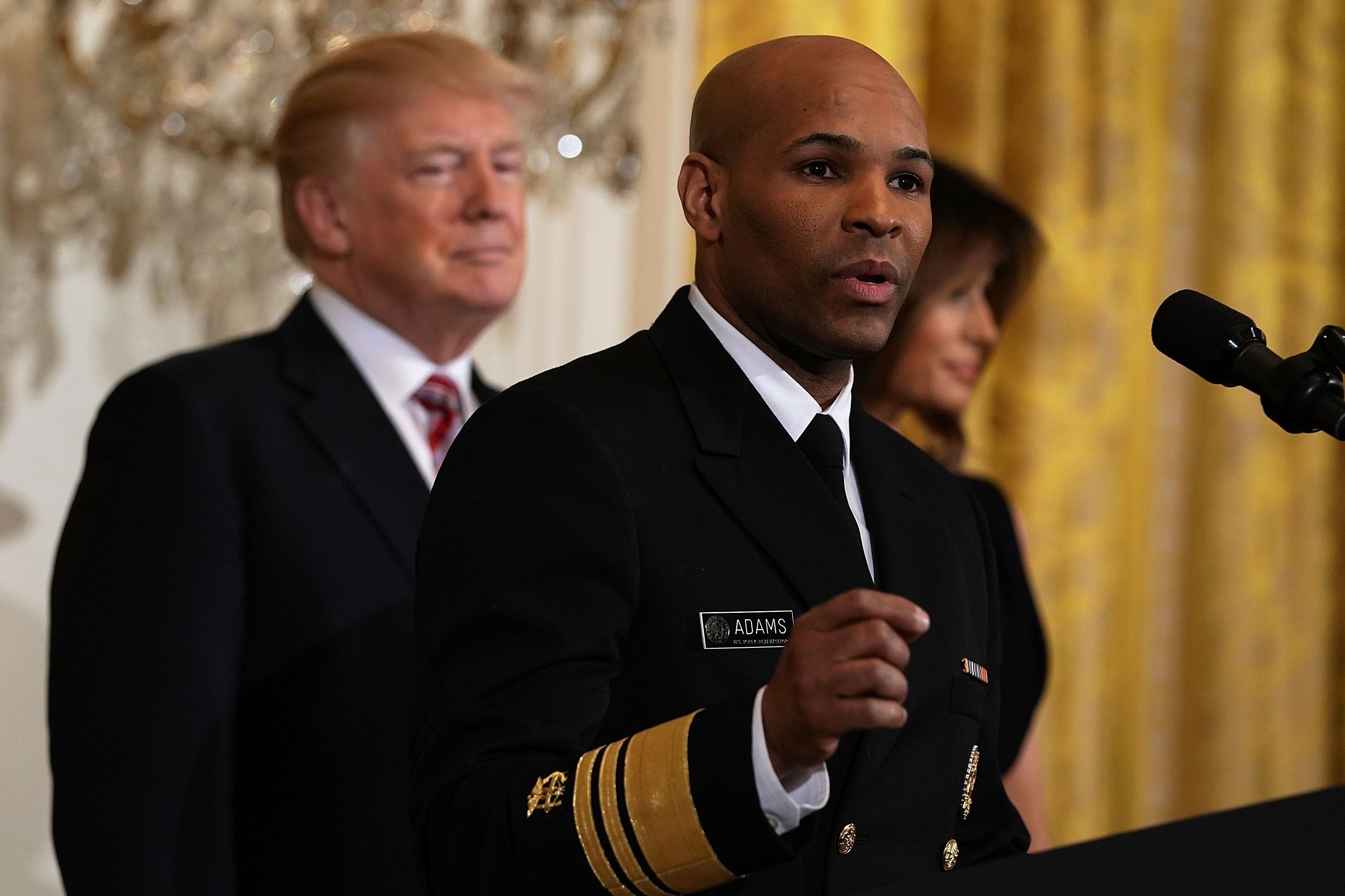 The United States Surgeon General said on Wednesday that he assisted in a medical emergency on board a Delta flight