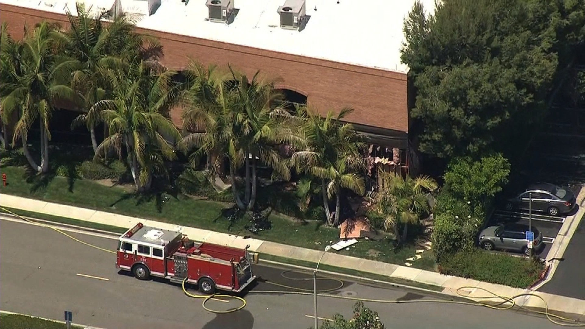 **Embargo: Los Angeles, Calif.**  A deadly explosion at a California medical facility -- so powerful it blew out walls of the building and caused the ground to shake in nearby structures -- shows no sign of a gas leak and police can't say for certain...