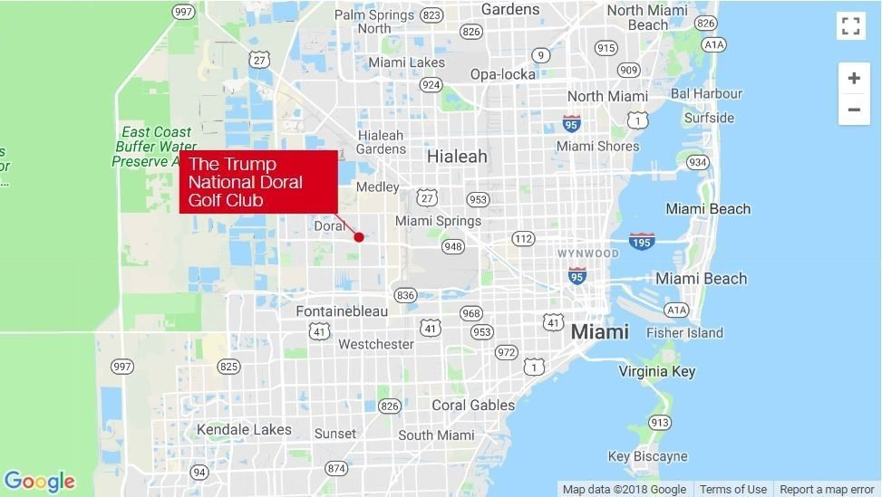 Police respond to call of shots fired at Trump National in Doral