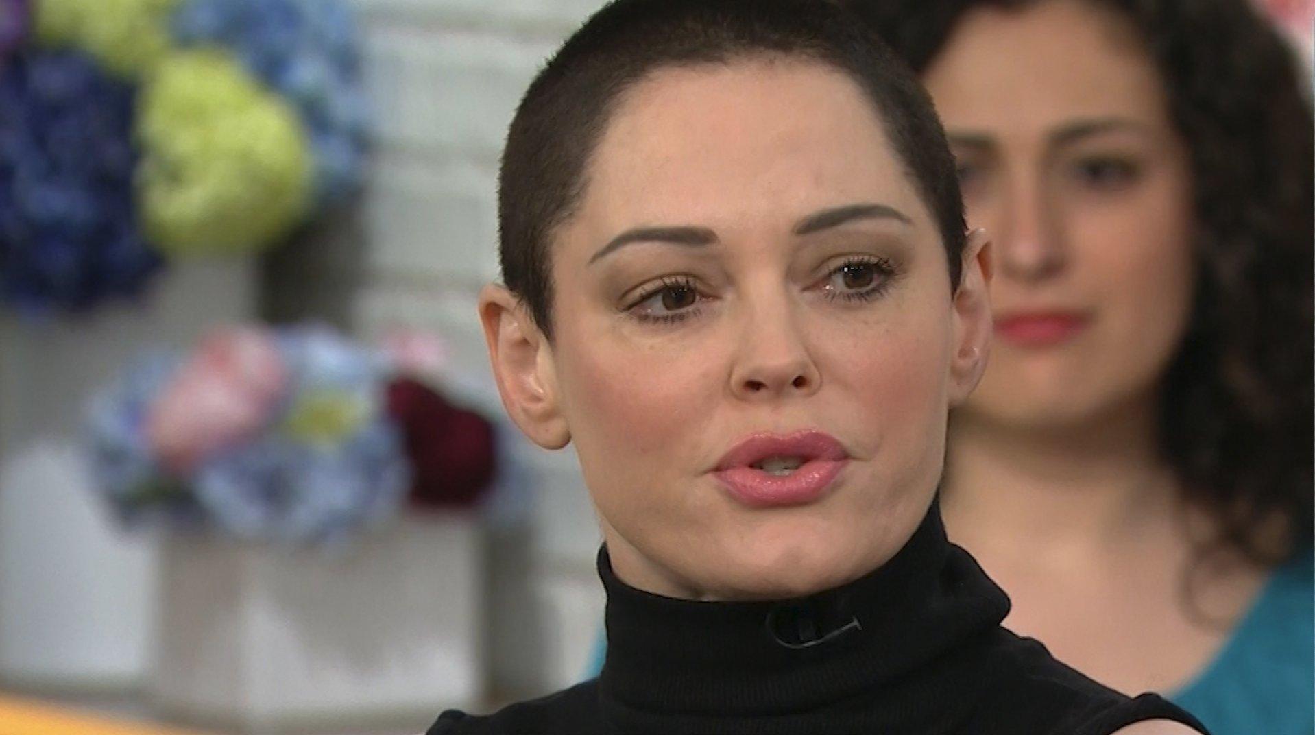 "Rose McGowan appears on NBC's ""Megyn Kelly Today."""