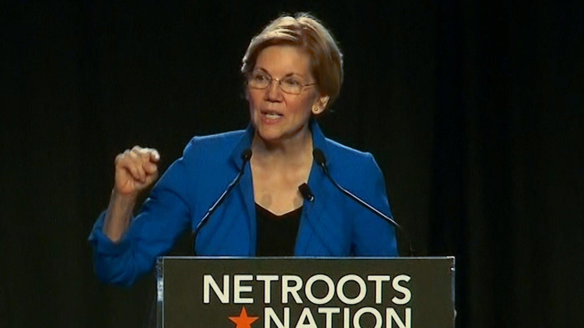 "Sen. Elizabeth Warren addressed President Donald Trump's nickname for her, ""Pocahontas,"" earlier this year."