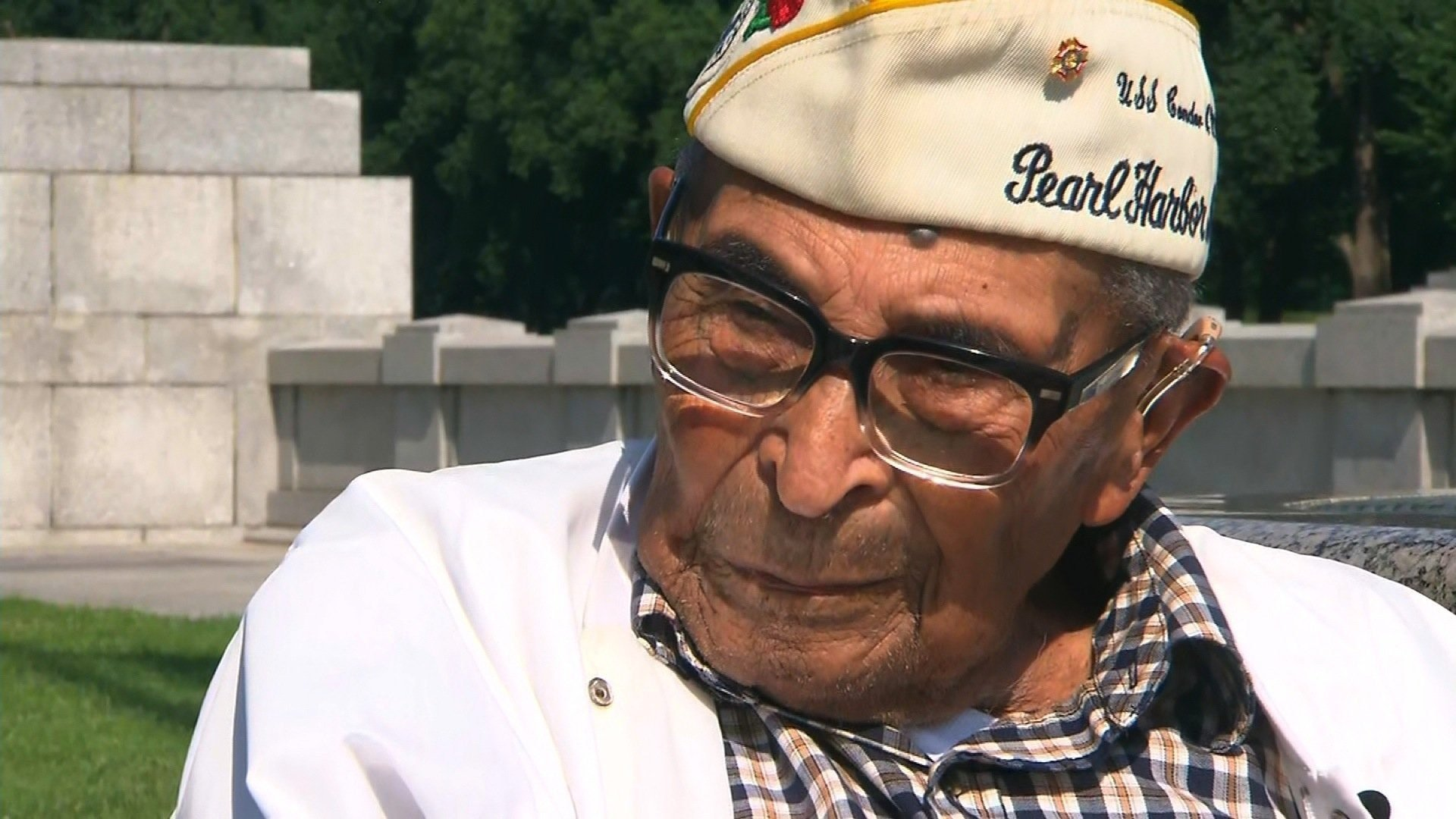 Ray Chavez is the oldest survivor of the attack on Pearl Harbor that launched America's entry into World War II in 1941.