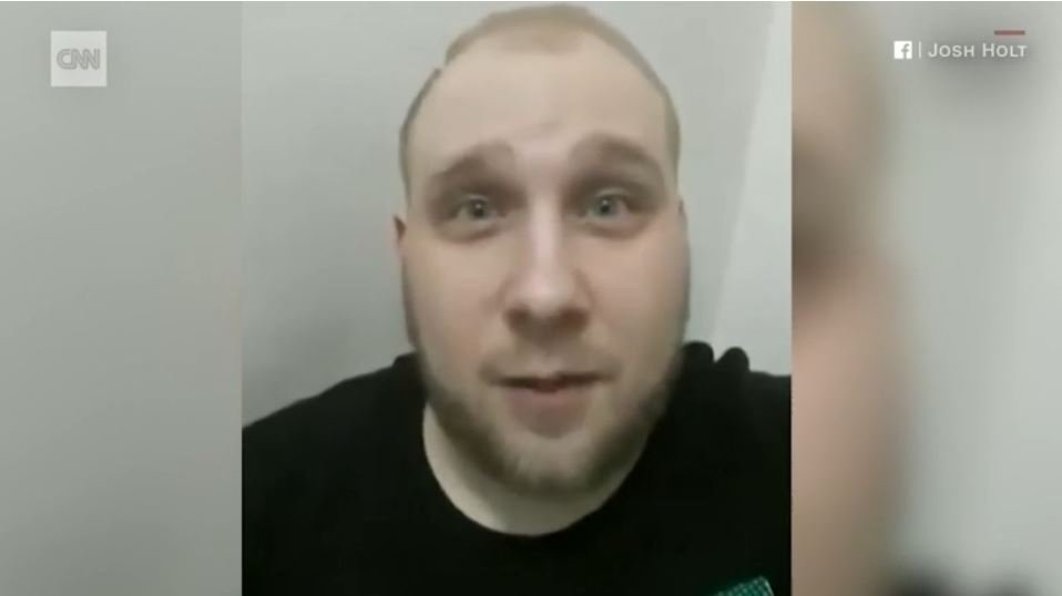 Joshua Holt, an American political prisoner in Venezuela and a former Mormon missionary from Utah, posted a video on Facebook saying he feared for his life.