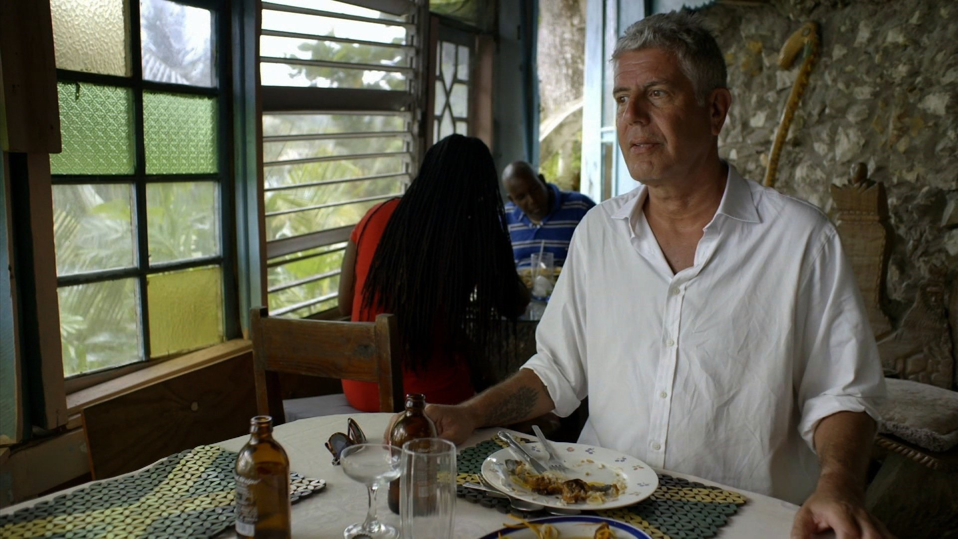 Anthony Bourdain a gifted storyteller and writer who took CNN viewers around the world died at age 61. Bourdain is seen here in the CNN series