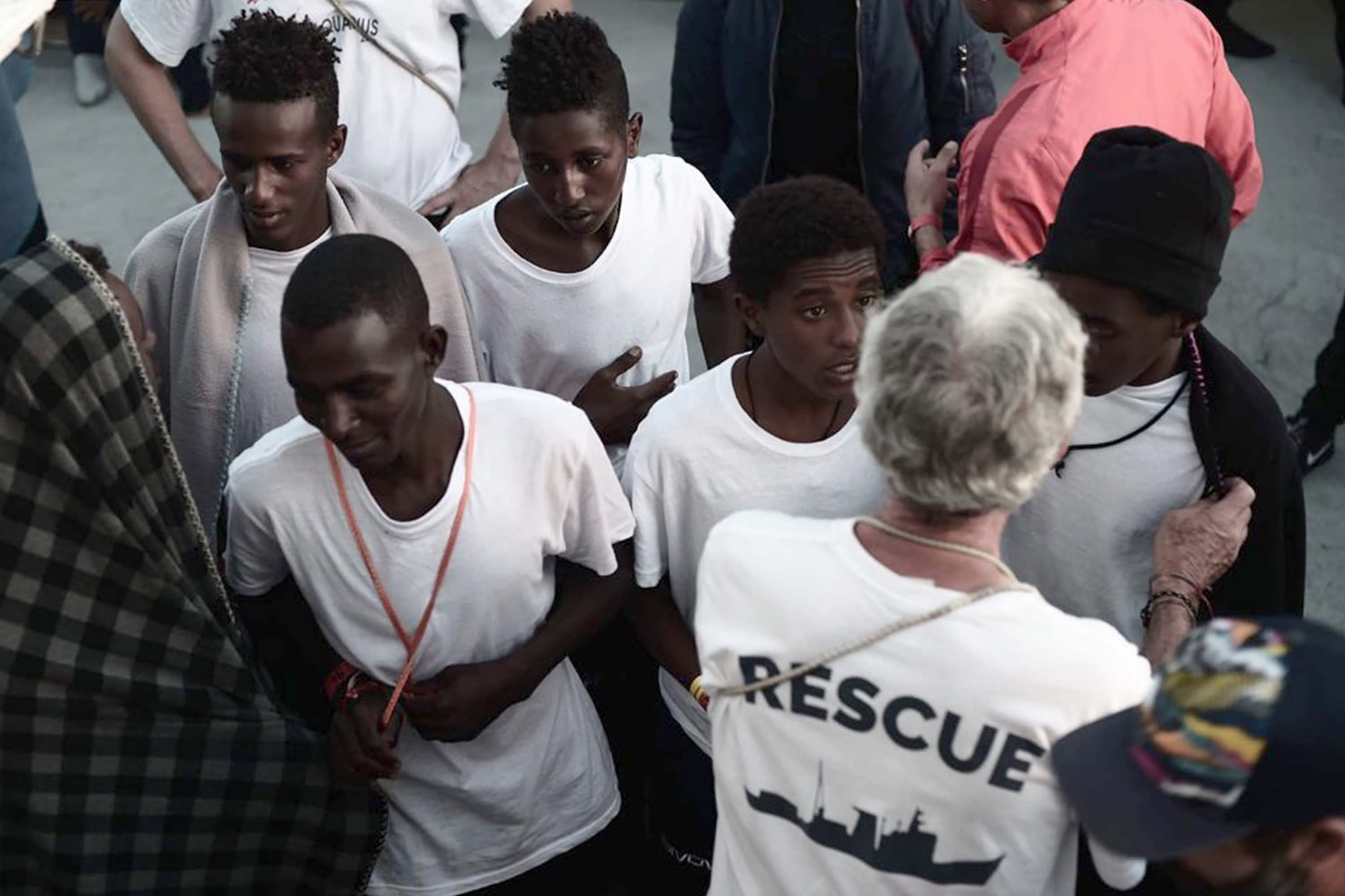 Among the migrants on board are 123 unaccompanied minors and six pregnant women.