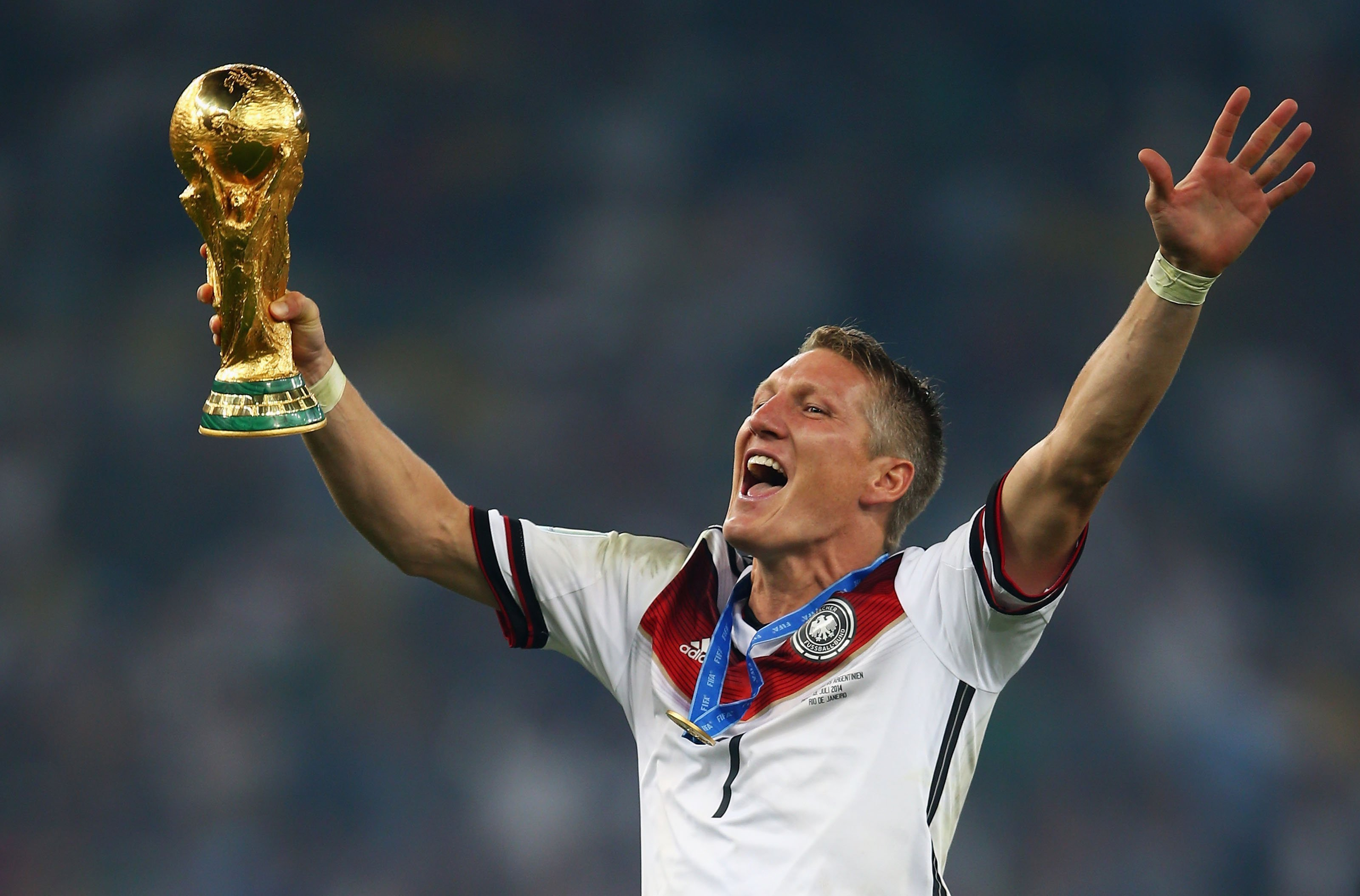 Bastian Schweinsteiger participated in every major international tournament from Euro 2004 to the 2016 World Cup.