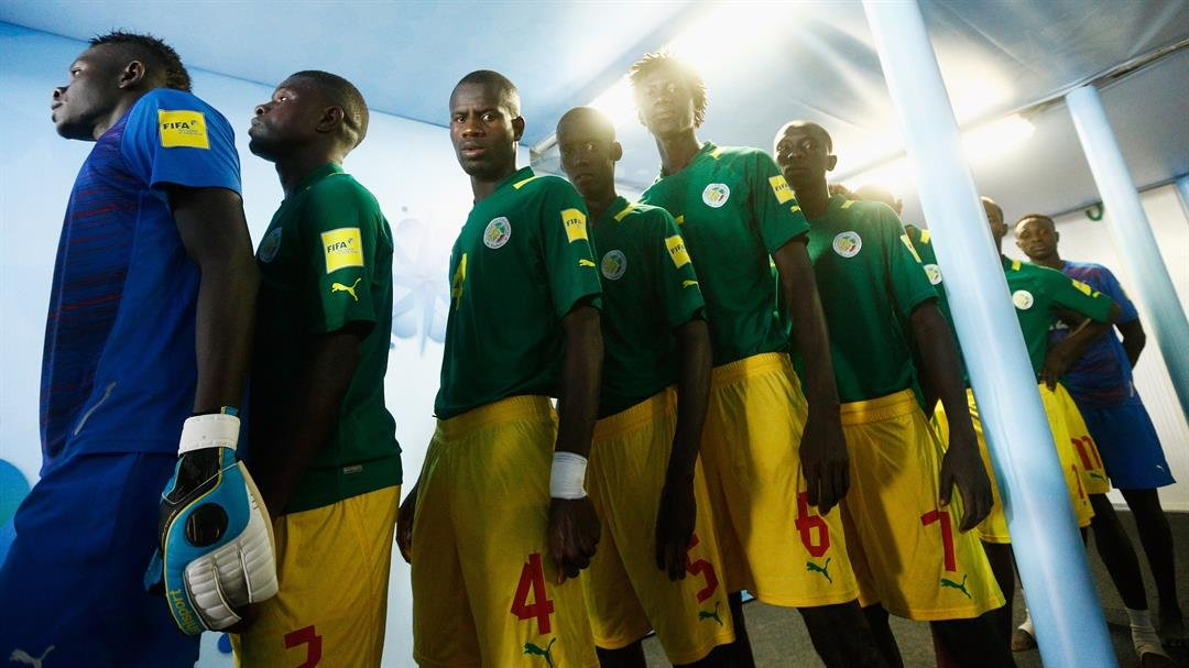 The Senegal team circa 2015  CREDIT: Dean Moutharopoulos/FIFA via Getty Images