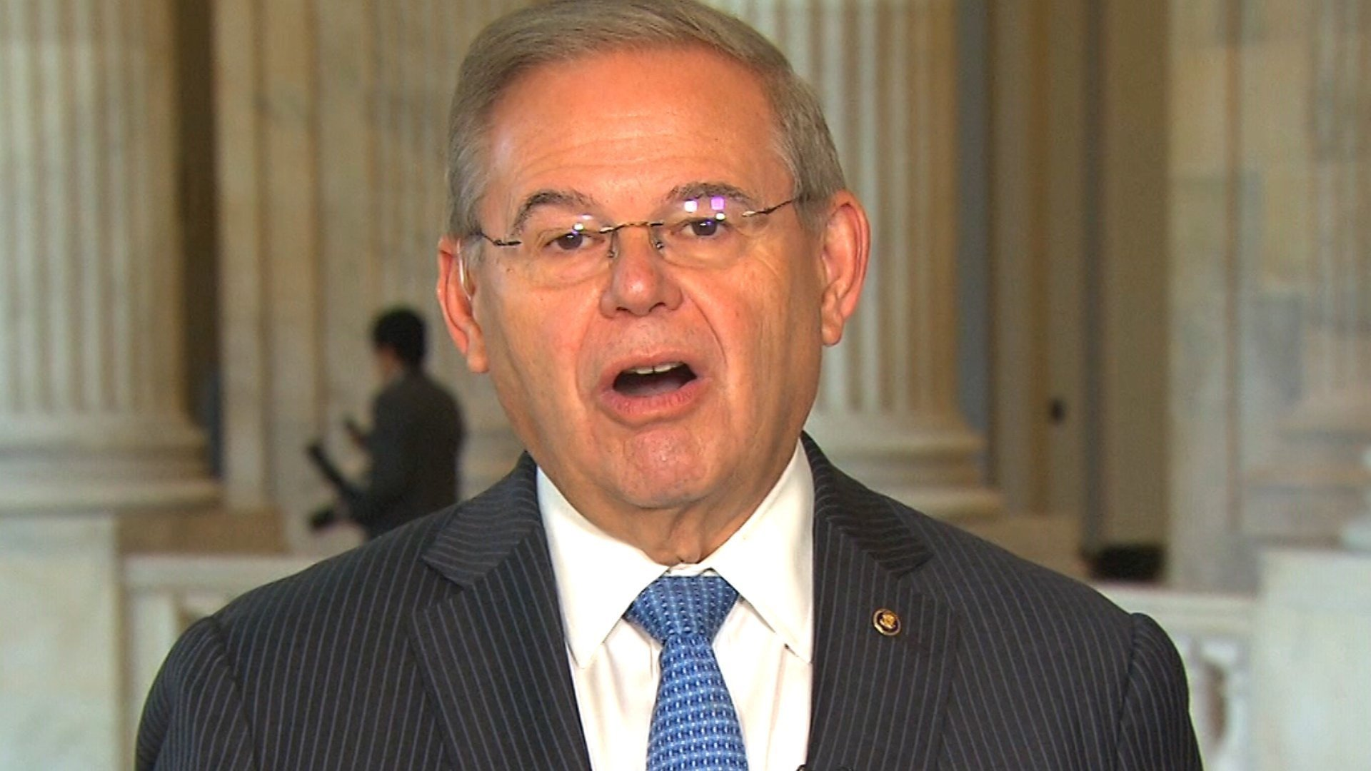 "Sen. Bob Menendez said Wednesday that a fellow Democrat who is running for Congress after admitting to abusing his ex-wife decades ago ""probably should be"" seen as having disqualifying behavior in the eyes of voters."