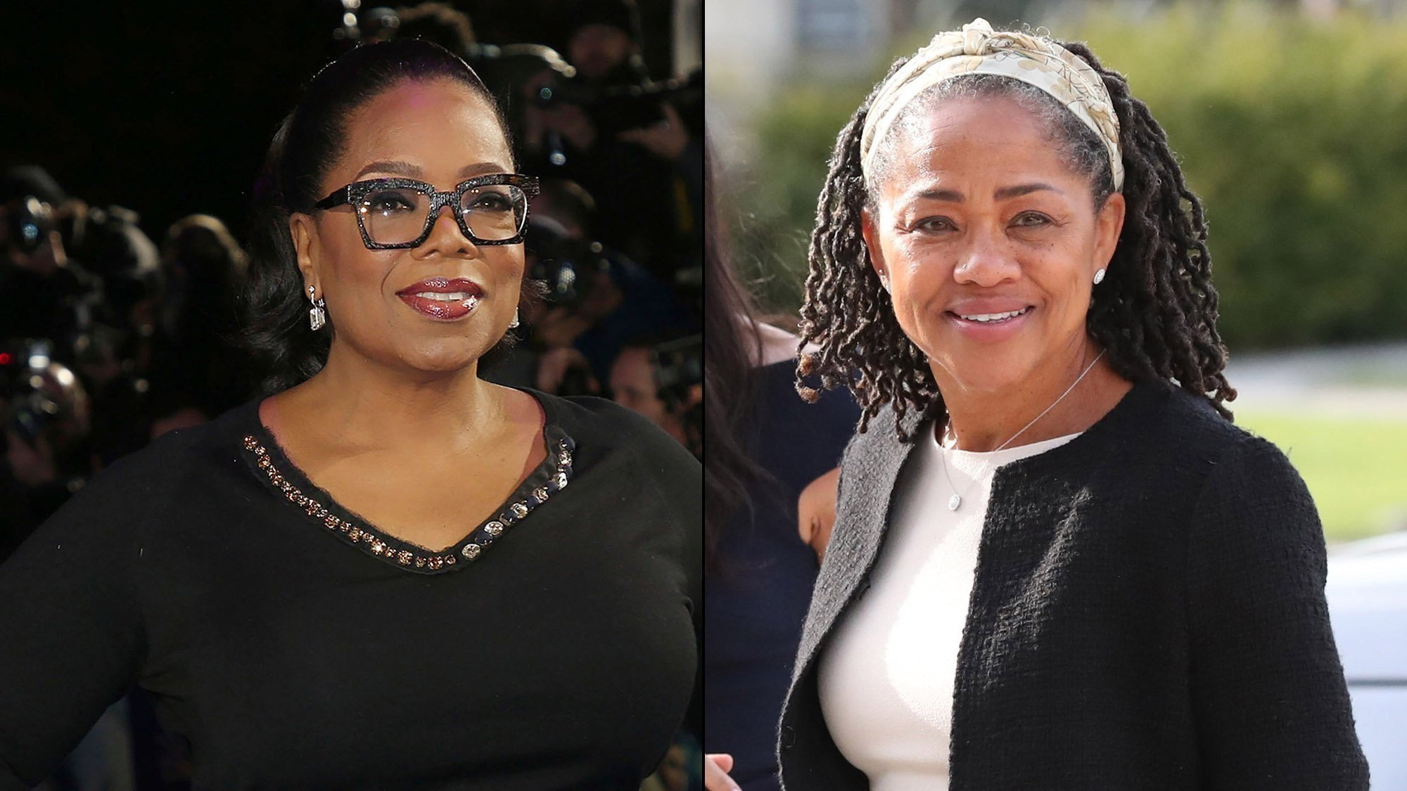 It was reported that Winfrey had lavished gifts on Meghan Markle's mother, Doria Ragland, when the pair spent the afternoon together prior to Markle's wedding to Prince Harry.