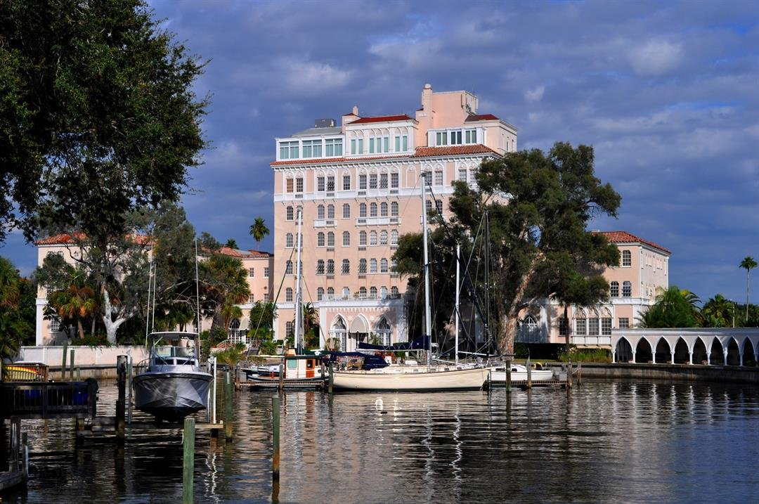 The Davis Islands, near downtown Tampa, is one of the city's more exclusive neighborhoods.