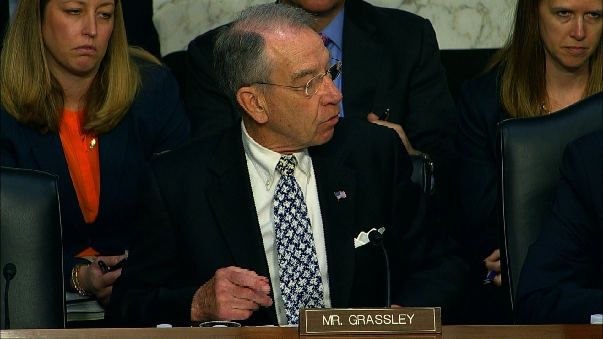 """File- Judiciary Chairman Chuck Grassley complained that judicial officials, who studied the problem for six months after claims of misbehavior against US Appeals Court Judge Alex Kozinski became public, produced only a """"vague"""" report with no assessment..."""