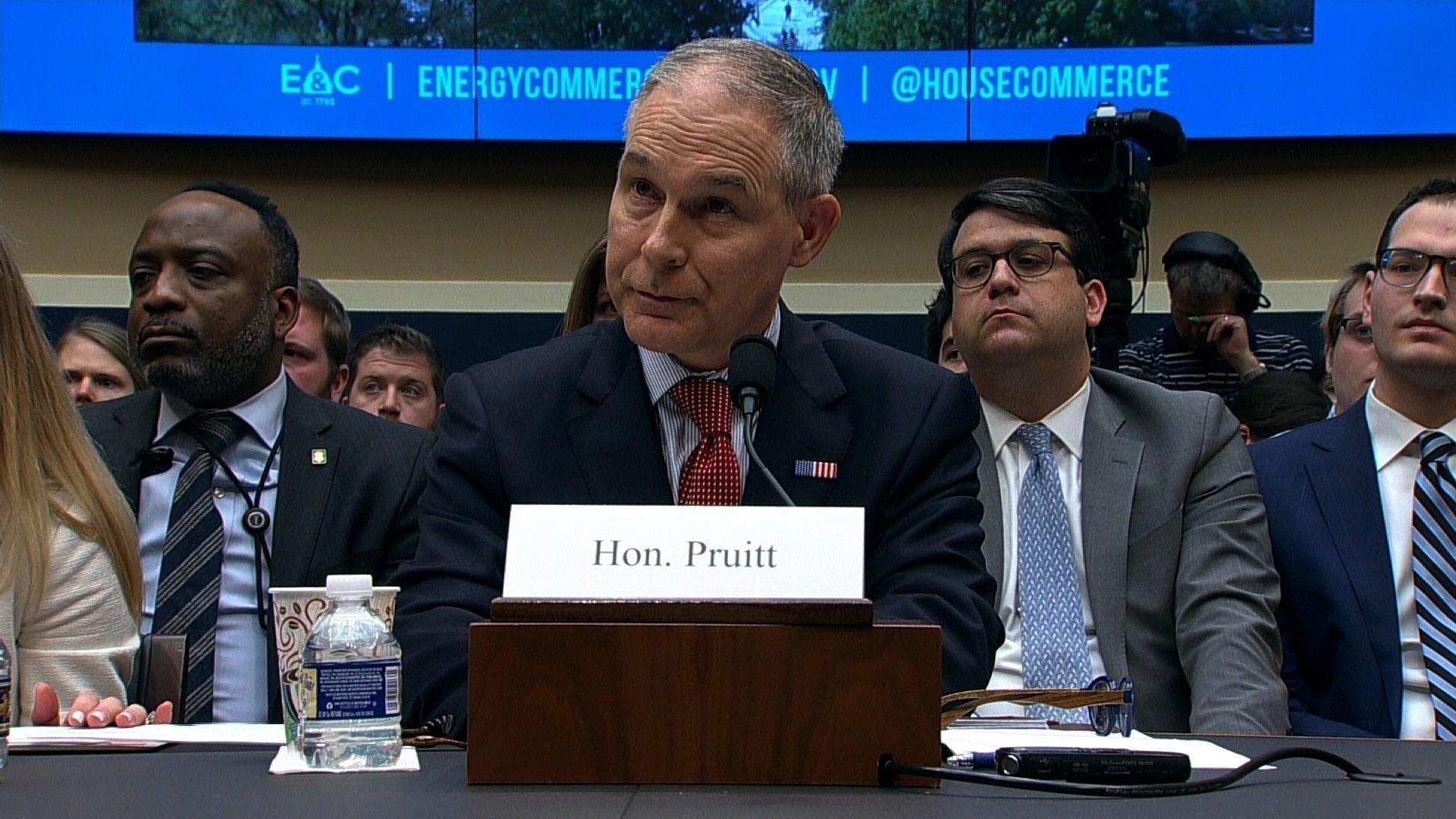 Oklahoma Republican Sen. James Inhofe said Wednesday he was nearing his limit with Environmental Protection Agency Administrator Scott Pruitt and that an agreeable alternative would be to replace Pruitt with his deputy. (FILE)