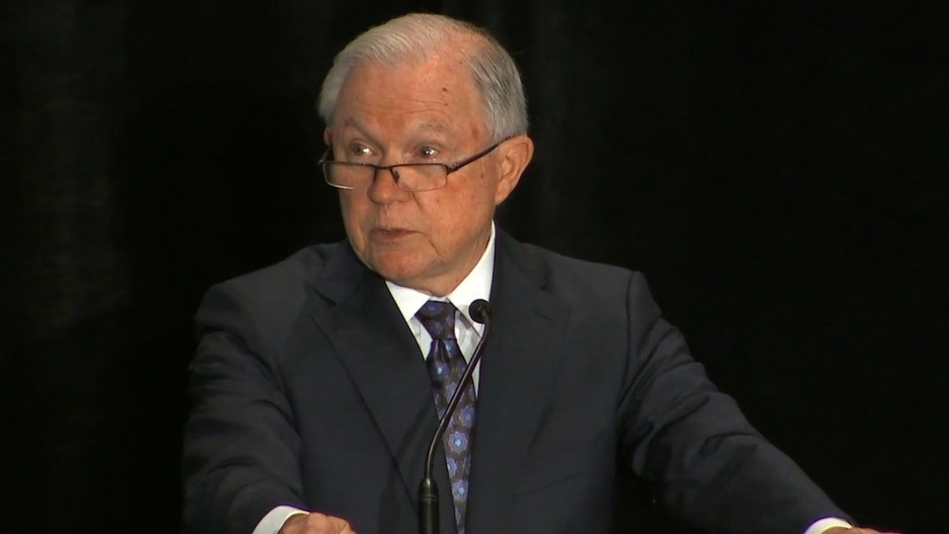 Attorney General Jeff Sessions is taking responsibility for authorizing Deputy Attorney General Rod Rosenstein to remain in charge of the Russia investigation, and detailed the process by which former FBI Director James Comey was fired. (FILE)