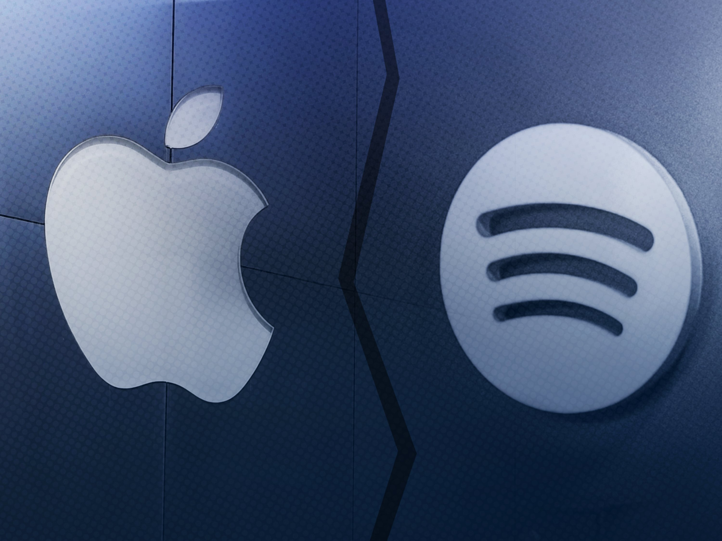 "Apple Music and Spotify are in the trenches of the ""streaming wars"" -- and Apple is fighting for every inch."