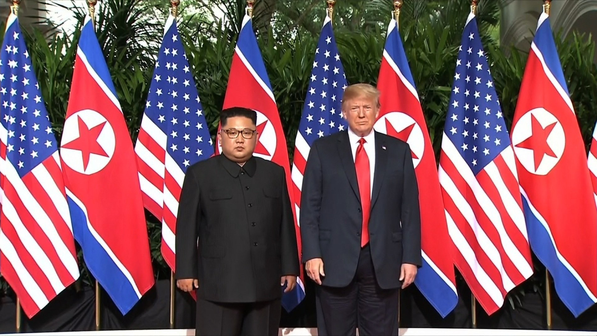 Most adults say that the meeting between President Donald Trump and North Korean Leader Kim Jong Un was a good idea, according to a Monmouth poll released Thursday.