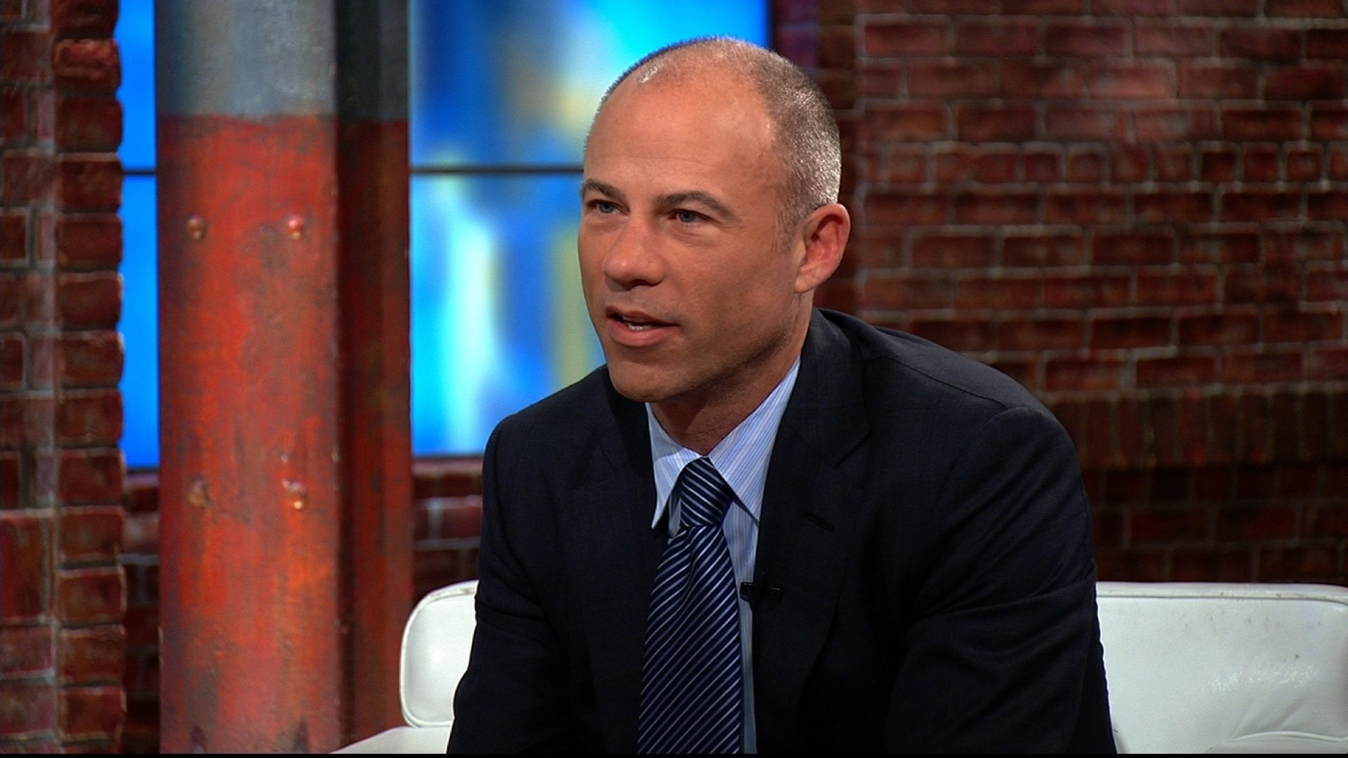 Michael Avenatti the lawyer for adult film actress Stormy Daniels is seen here speaking to CNN