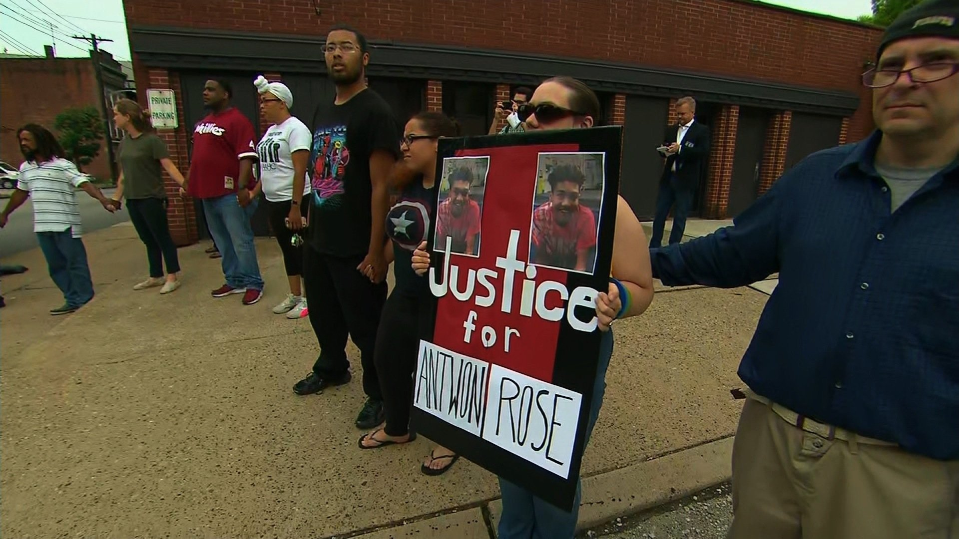Protestors in Pennsylvania asked on Thursday for justice for Antwon Rose, the 17-year-old who was fatally shot by an East Pittsburgh police officer during a traffic stop on Tuesday.