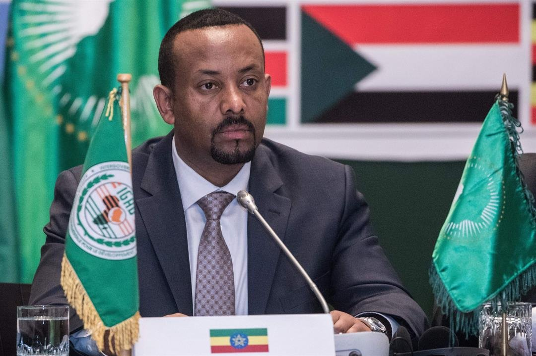 Ethiopia's Prime Minister Abiy Ahmed attends the 32nd Extraordinary Summit of Intergovernmental Authority on Development (IGAD) in the country's capital, Addis Ababa, on Wednesday.