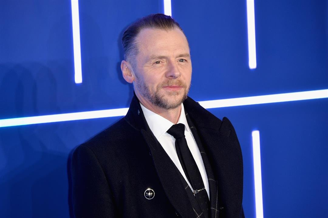 "Actor Simon Pegg attends the European Premiere of ""Ready Player One"" at the Vue West End cinema in London on on March 19, 2018."