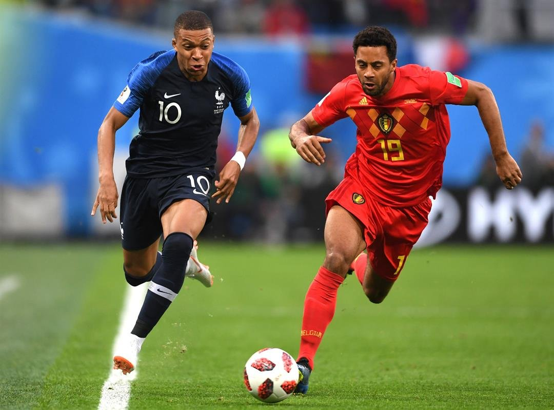France beat Belgium's 'golden generation' to reach World Cup final.