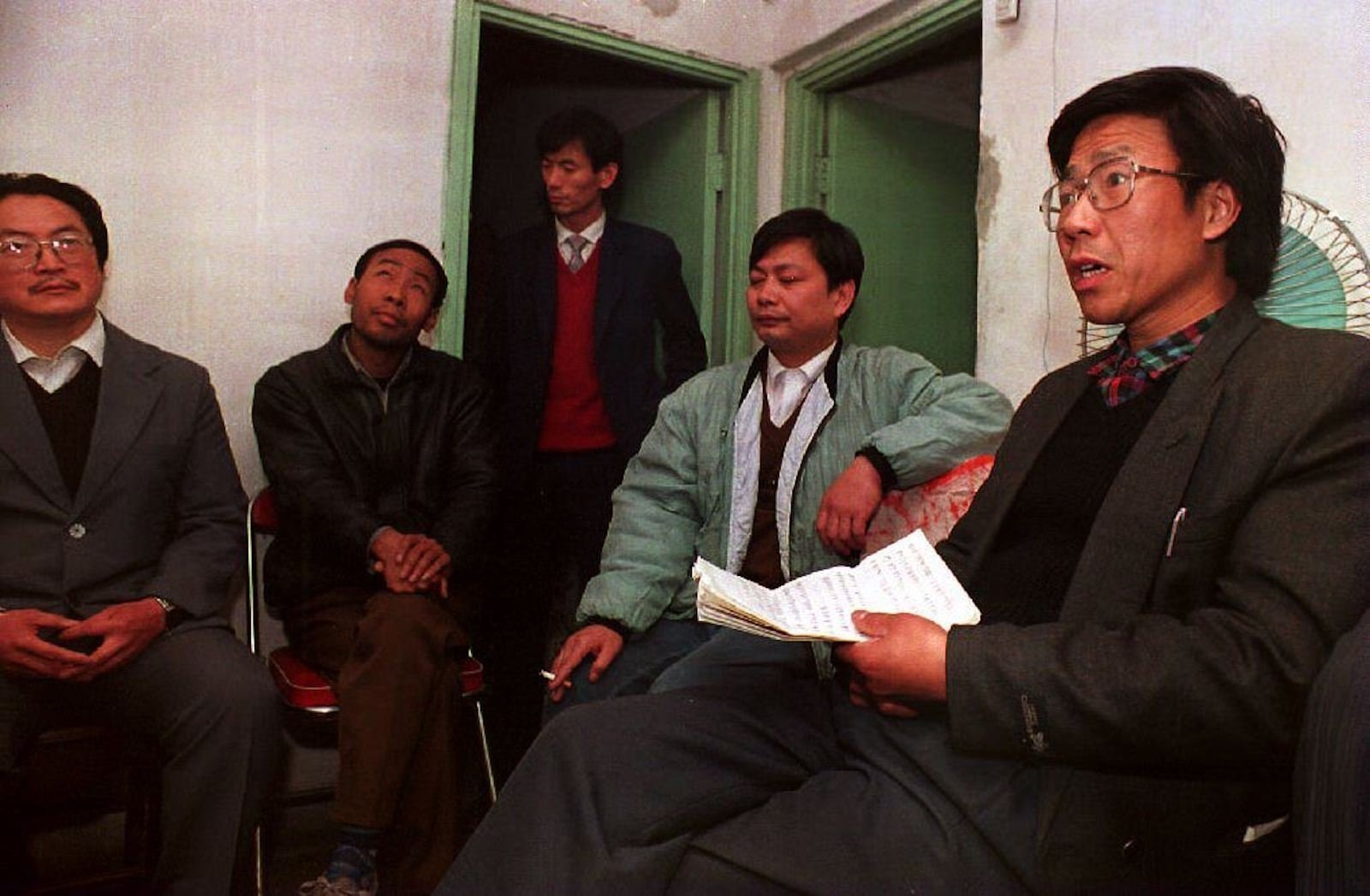 """Qin Yongmin, a longtime pro-democracy activist, has been sentenced to 13 years in a Chinese prison for """"subversion of state power."""""""