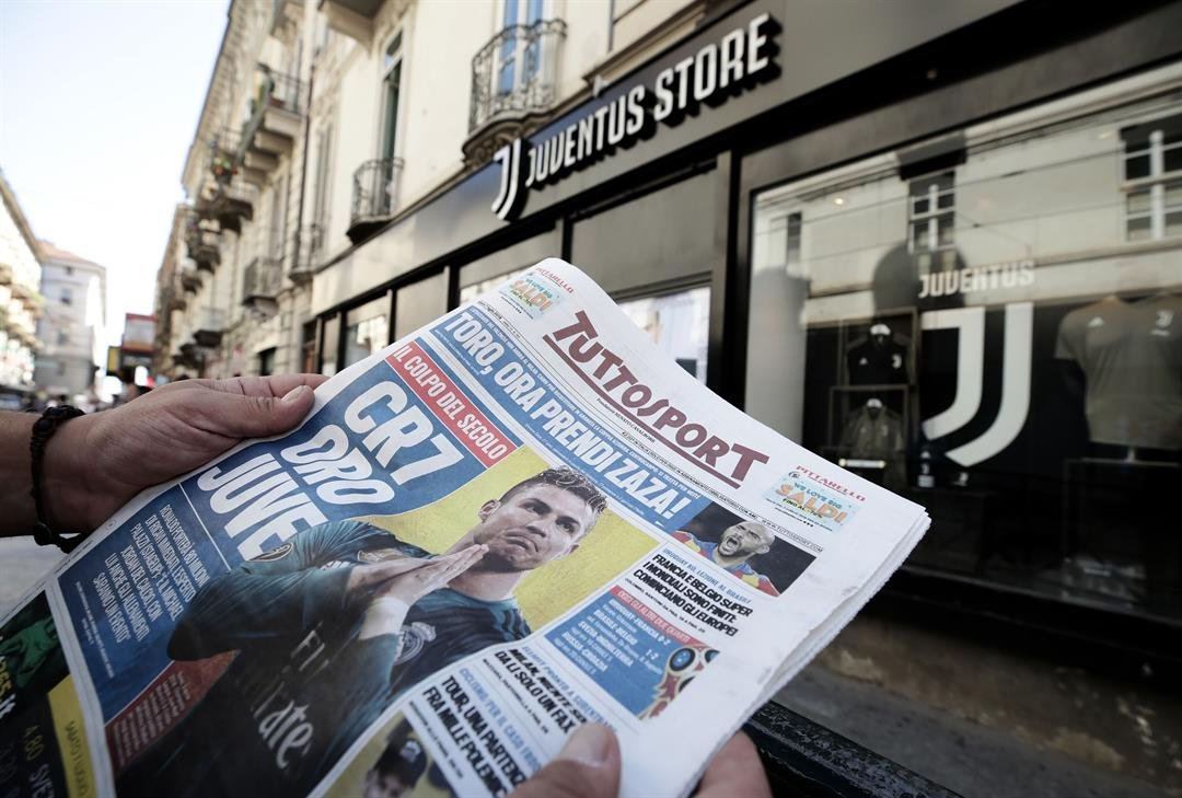What the papers say about ... Juventus and Cristiano Ronaldo.