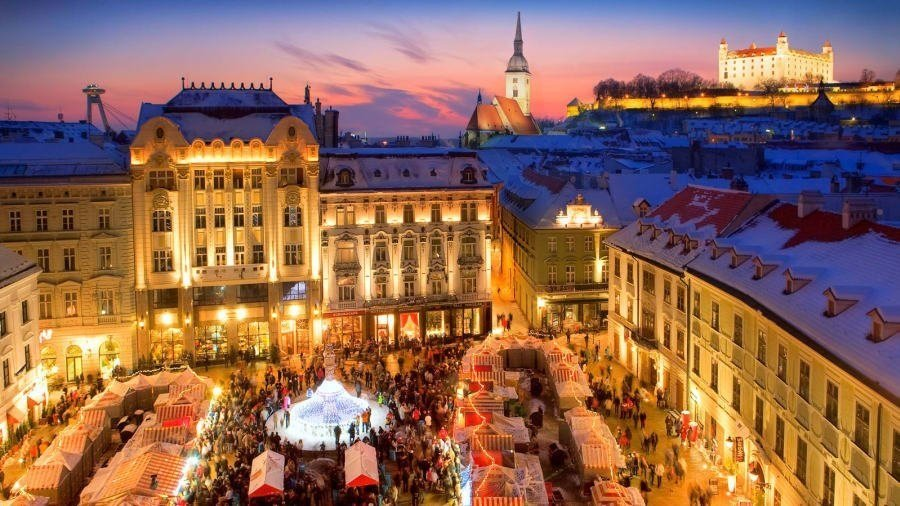 Whether you're walking through pathways of the Old Town or exploring grandiose Bratislava Palace, one of the main symbols of the capital, this Central European city doesn't disappoint.