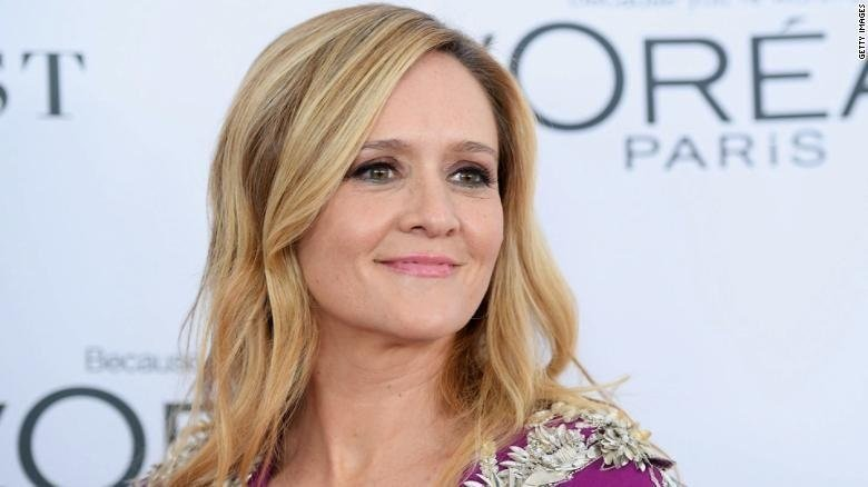 "Samantha Bee is nominated for outstanding variety talk series for ""Full Frontal with Samantha Bee."""