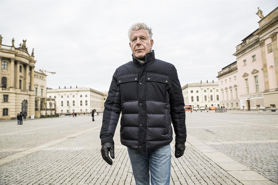 Anthony Bourdain in Berlin for 'Parts Unknown'