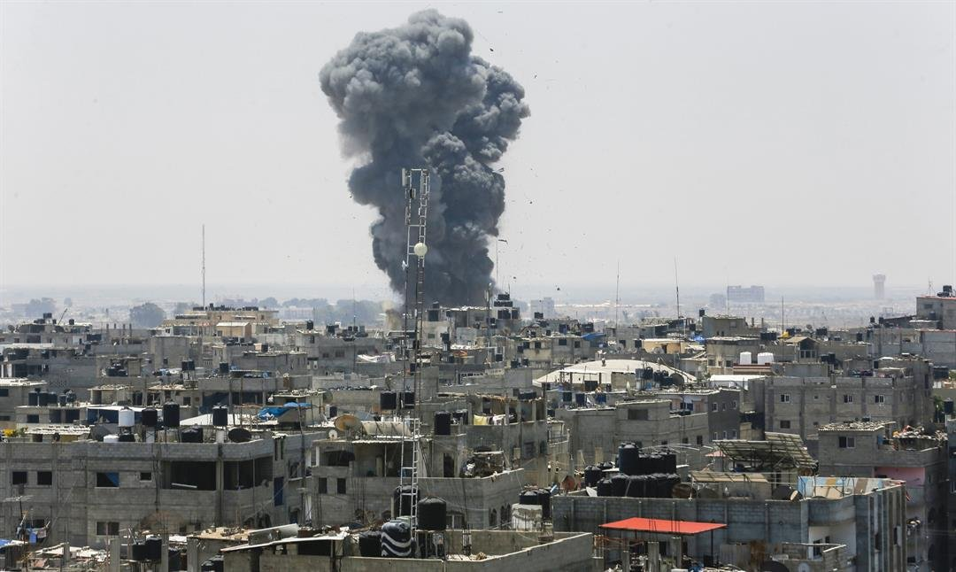 Hamas says ceasefire reached after Israel's biggest strikes since 2014 war