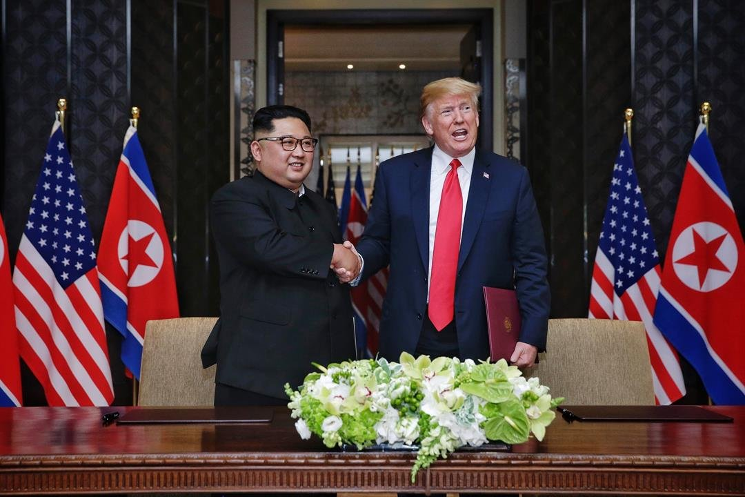 The United States is expecting North Korea to return the first group of possible US service member remains on July 27 according to a US official. CREDIT Kevin Lim  The Strait Times  Handout  Getty Images