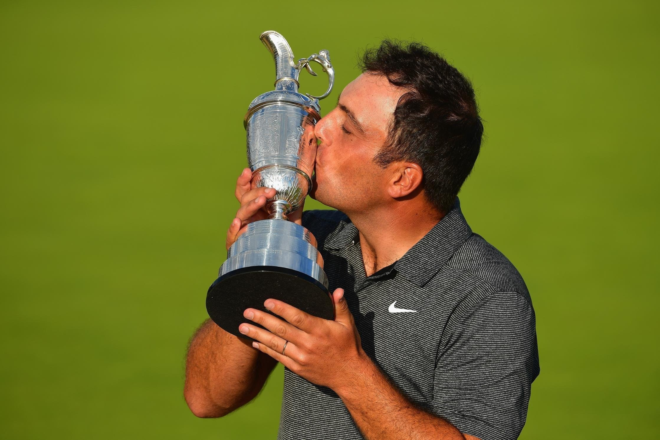Frankie goes to golfing Hollywood after first major victory