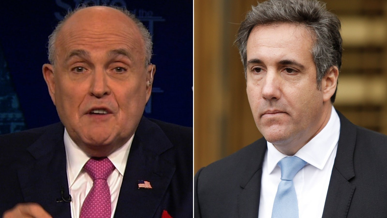 Giuliani says experts think 'someone messed' with Cohen tape