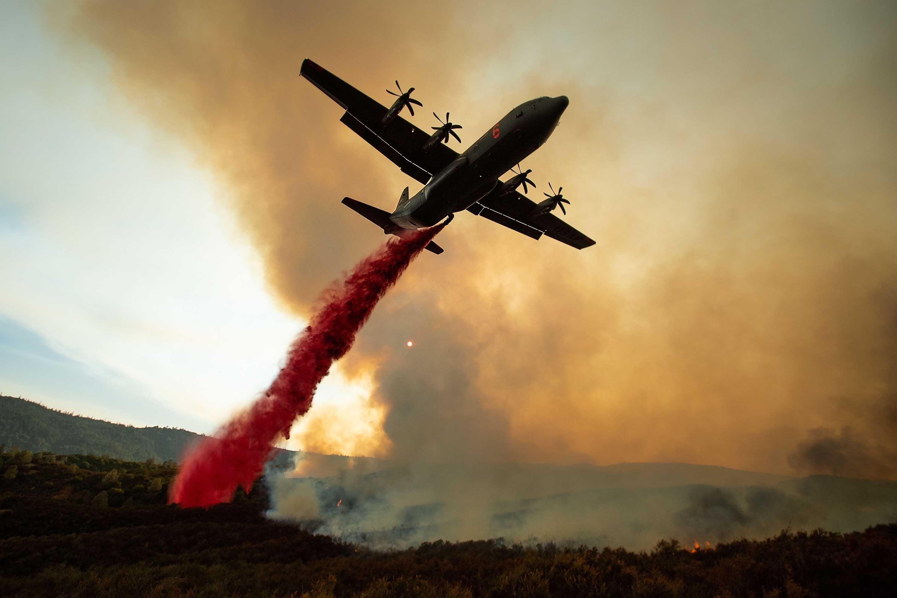 There are 17 large wildfires burning across the state and more than 14,000 firefighters working to put out the blazes Cal Fire said on Tuesday