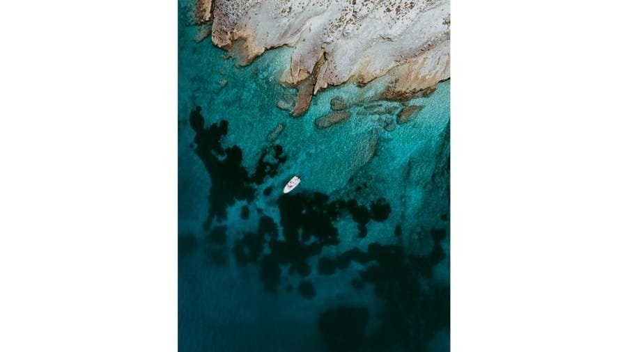 Photographer Tom Hegen captures the beauty of the Mediterranean coastline in his incredible aerial photographs.