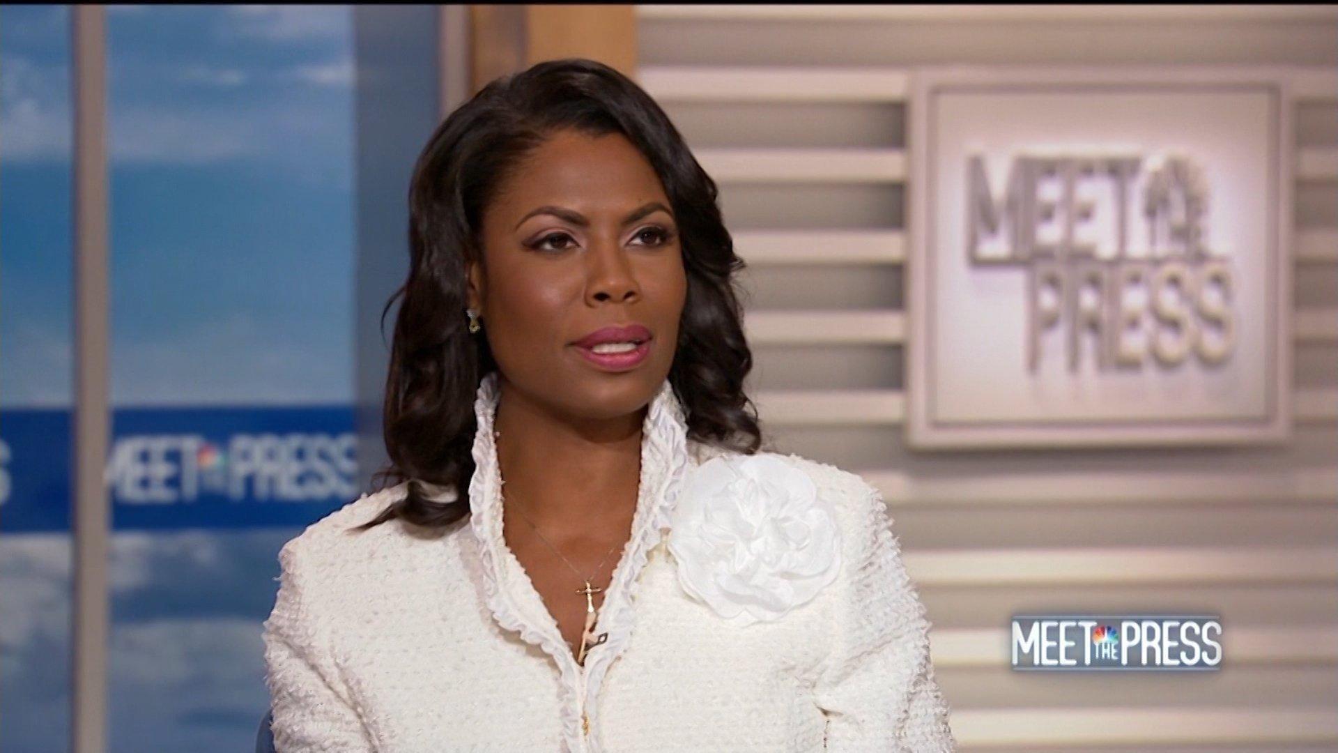 Ex-White House staffer Omarosa releases tape of her firing