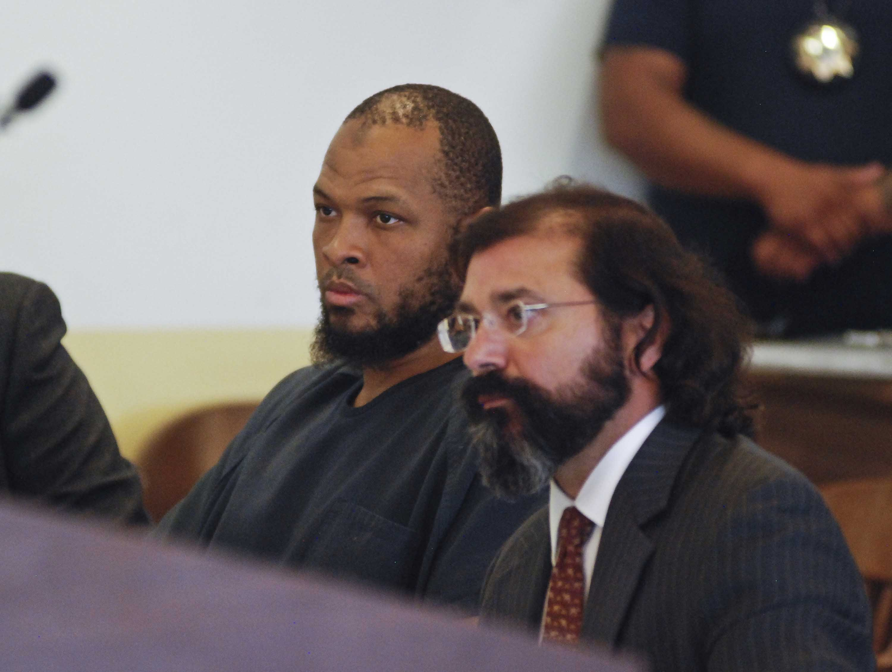 Siraj Wahhaj, left, is one of five adults accused of child abuse stemming from their arrests on a New Mexico compound.